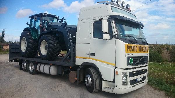 Transport Maszyn Rolniczych I Budowlanych Transport Lawetami Transport Niskopodwoziowy Holowanie 3