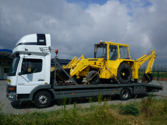 Transport Maszyn Rolniczych I Budowlanych Transport Lawetami Transport Niskopodwoziowy Holowanie 4