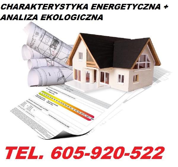 Projektowana Charakterystyka Energetyczna Budynku - Zielona Góra Tel. 605-920-522