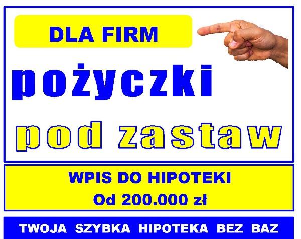 Pożyczki Pozabankowe Pod Zastaw Nieruchomości, Dla Firm, Bez Baz I Zaświadczeń