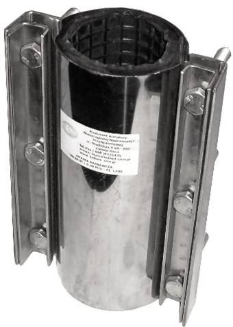Opaski Naprawcze Do Rur Stalowych,żeliwnych Pcv/pe, Azbestocementowych, Grp I Kamionka 4